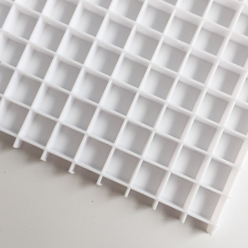 Eggcrate grille ceiling sheet return air egg crate air grill panel