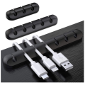 BPA Free Silicone Cable Holder Clips