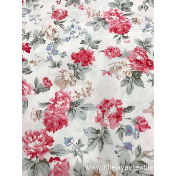 100%Cotton Spendex Poplin Printing Fabric