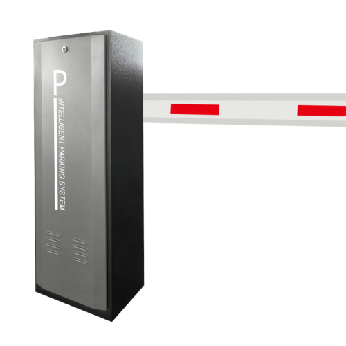 Vehicles Card Reader Intelligent Boom Barrier Gate
