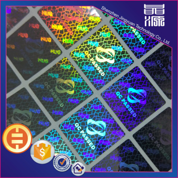 3D Colorful Holographic Security Label