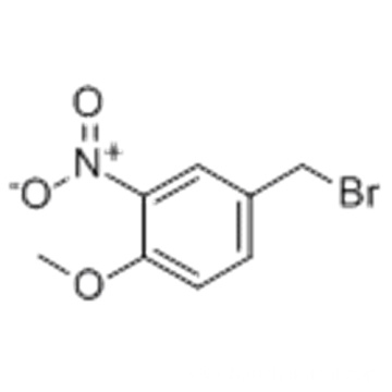 4-Methoxy-3-nitrobenzyl bromide CAS 61010-34-2
