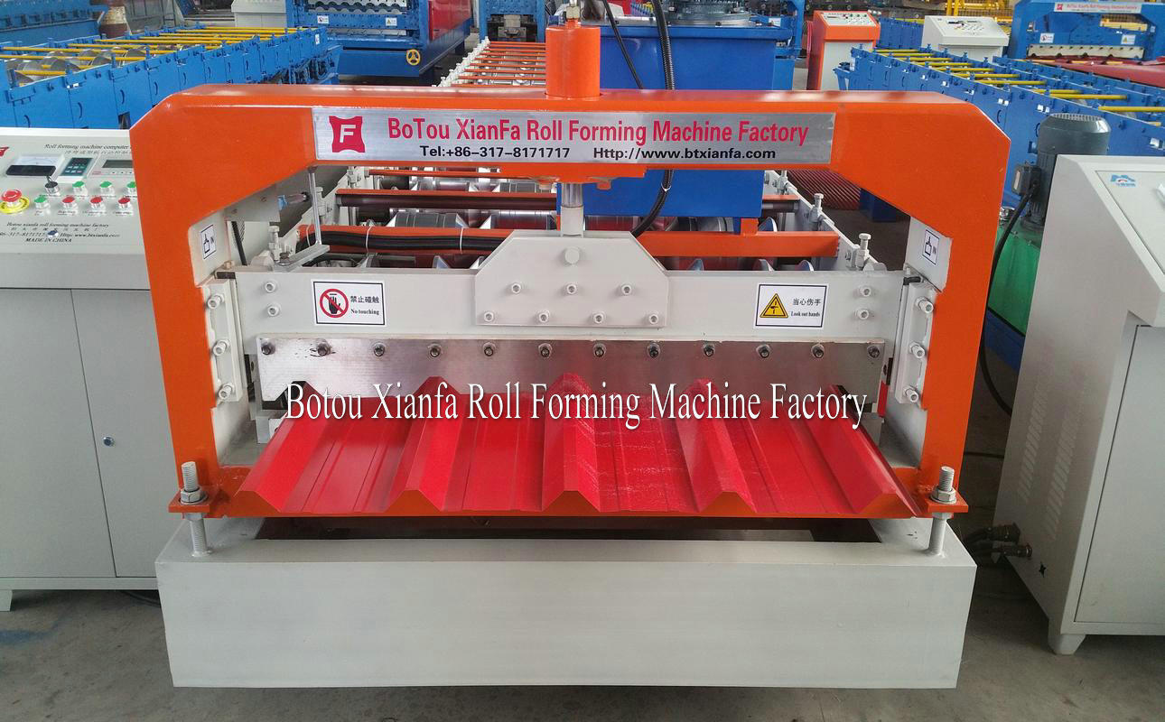 forming machine cutting