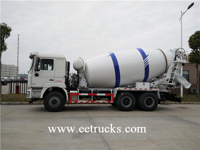 12 CBM Concrete Mixer Trucks