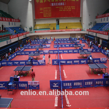 PVC flooring for Table Tennis with ITTF