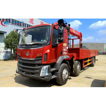 Dongfeng 10Tons Telescopic Boom Truck Mounted Crane