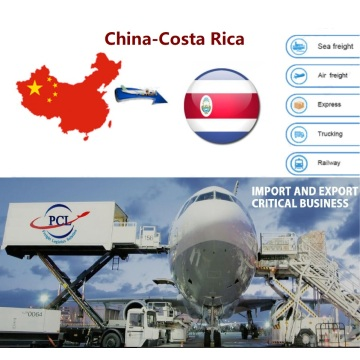 Honest and happy air freight shipping agent rates from China to Costa Rica(SJO) airport