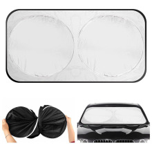 Wholesaler support  170T silver car windows sunshade