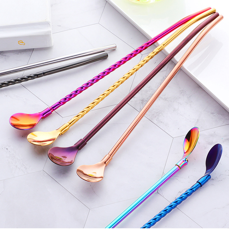 18/8 Field Stainless Steel Straw Spoon