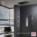 HIDEEP Thermostatic Wall Mounted Shower Faucet Set