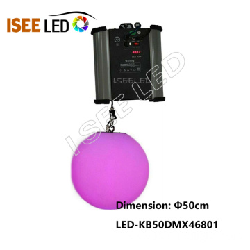 DMX512 Kinetic LED Ball RGB Full Color