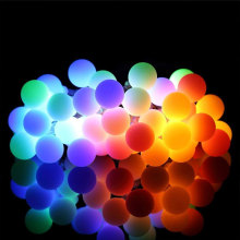 Luces de hadas estrelladas multi color LED bola impermeable