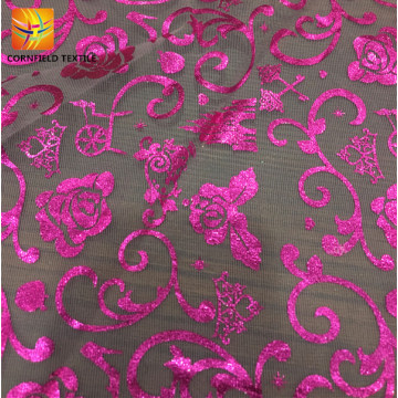 Best beautiful pattern mesh fabric for wedding