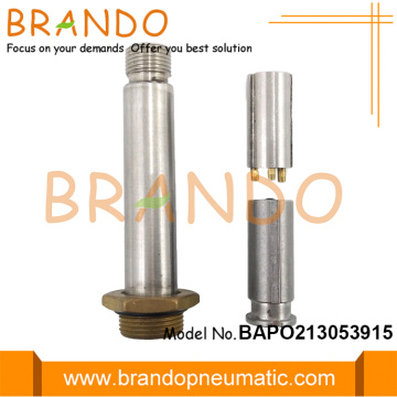 Normally Opened M16 Thread Seat Stainless Steel Armature
