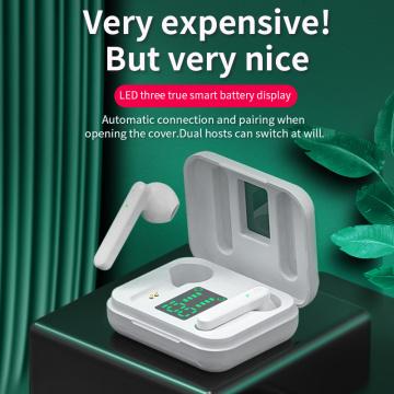 NBX Mini TWS Bluetooth 5.1 Earphones Wireless Headphones Hifi Stereo Sports Waterproof Wireless Earphone Headset With Microphone