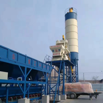 New technology 25m3 durable concrete batching plant