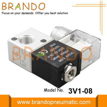 3V1-08 Airtac Type 3/2 Way Pneumatic Solenoid Valve