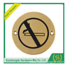 BTB SSP-006SS Stainless Steel Wheelchair Logo Door Sign Sill Plate