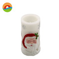 with timer flameless swing flame led wax candle