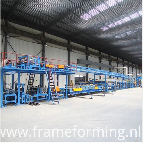 EPS sandwich panel roll forming machine