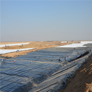 Black Smooth 1.5mm HDPE Geomembrane for Dam Liner