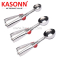 Stainless Steel Ice-cream Scoop Set of 3