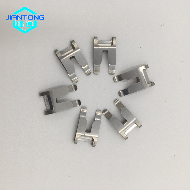 stainless steel stamping part/sheet metal spring clip