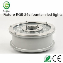 Fixture RGB 24v fountain led lights