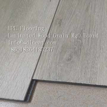 Fire Resistant Laminated MgO Wood Grain Flooring