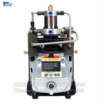 Mini pump pcp air rifle compressor for aluminum air tank
