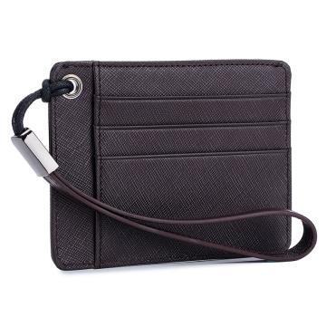 Top Quality Durable Leather Credit Card Wallet Case Cover Holder