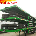 Two Axles 30t Container Flat Bed Trailer