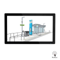 55 Inches Digital Information Panel for Bus Station