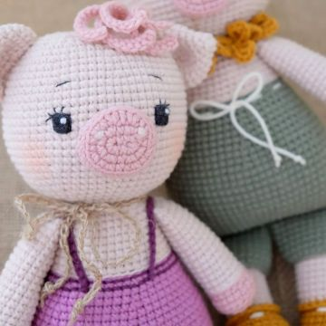 Creative Design Crochet Toy For Newborn