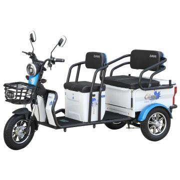 High quality 48v electric recreational tricycle/rickshaw
