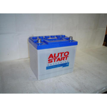 55D23L Dry Charged Car Batteries 12V 60Ah