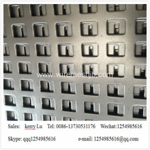 Rectangle Hole Perforated Metal Sheet Mesh