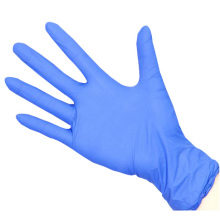 medical protection nitrile powder free gloves disposable