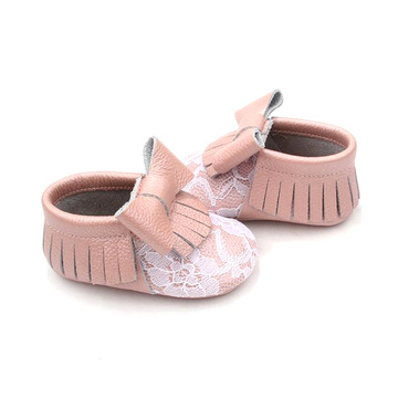 Infant Kids Soft Sole Shoes Pink Baby Shoes