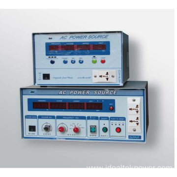 Single Phase Variable Frequency AC Power Supply