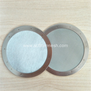 Twill Weave Stainless Steel Wire Screen Mesh Filter