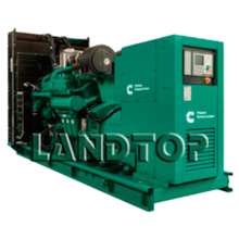 Open Type Diesel Generator with Low Price