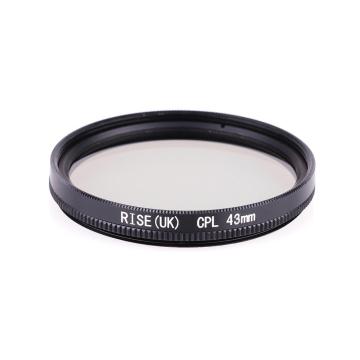 RISE(UK) 43mm Circular Polarizing CPL Lens Filter For DSR Camera Lens