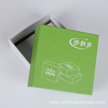 Natual Color Lid And Base Soap Paper Box
