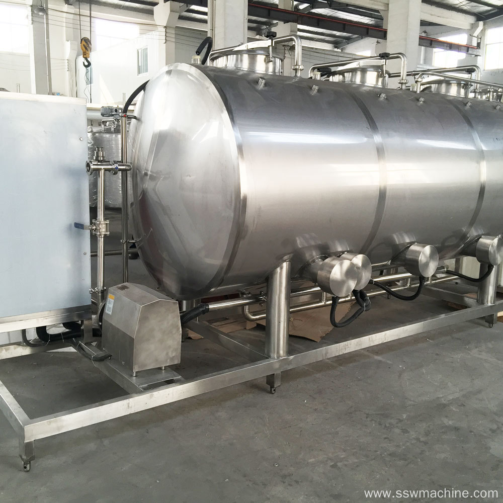 Water treatment system for bottled water production line