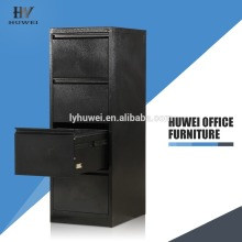 Black Four Drawer Cabinet Office Filing Cabinet