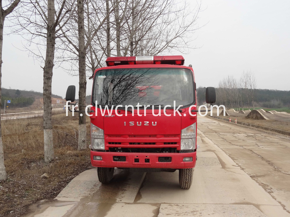 fire fighting foam truck 1