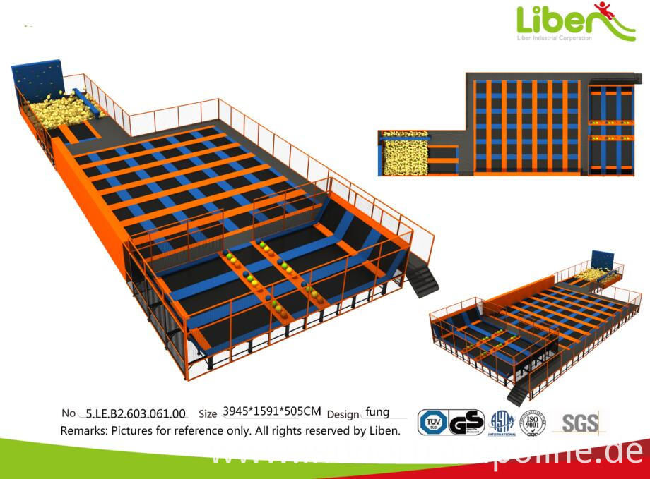 adult indoor trampoline park