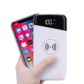 Power bank con ricarica rapida wireless QC 3.0 da 10000 mAh
