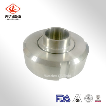 Sanitary Pipe Fitting Union Round Nut Liner